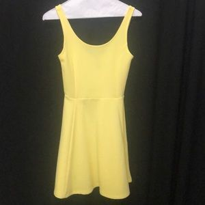 H and M Yellow cute dress